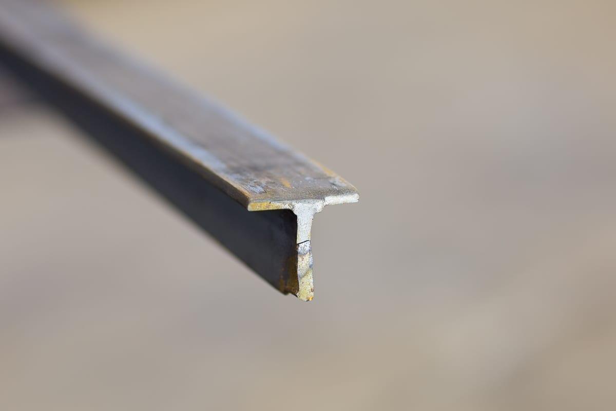 Aluminium T-profil (UTG.)