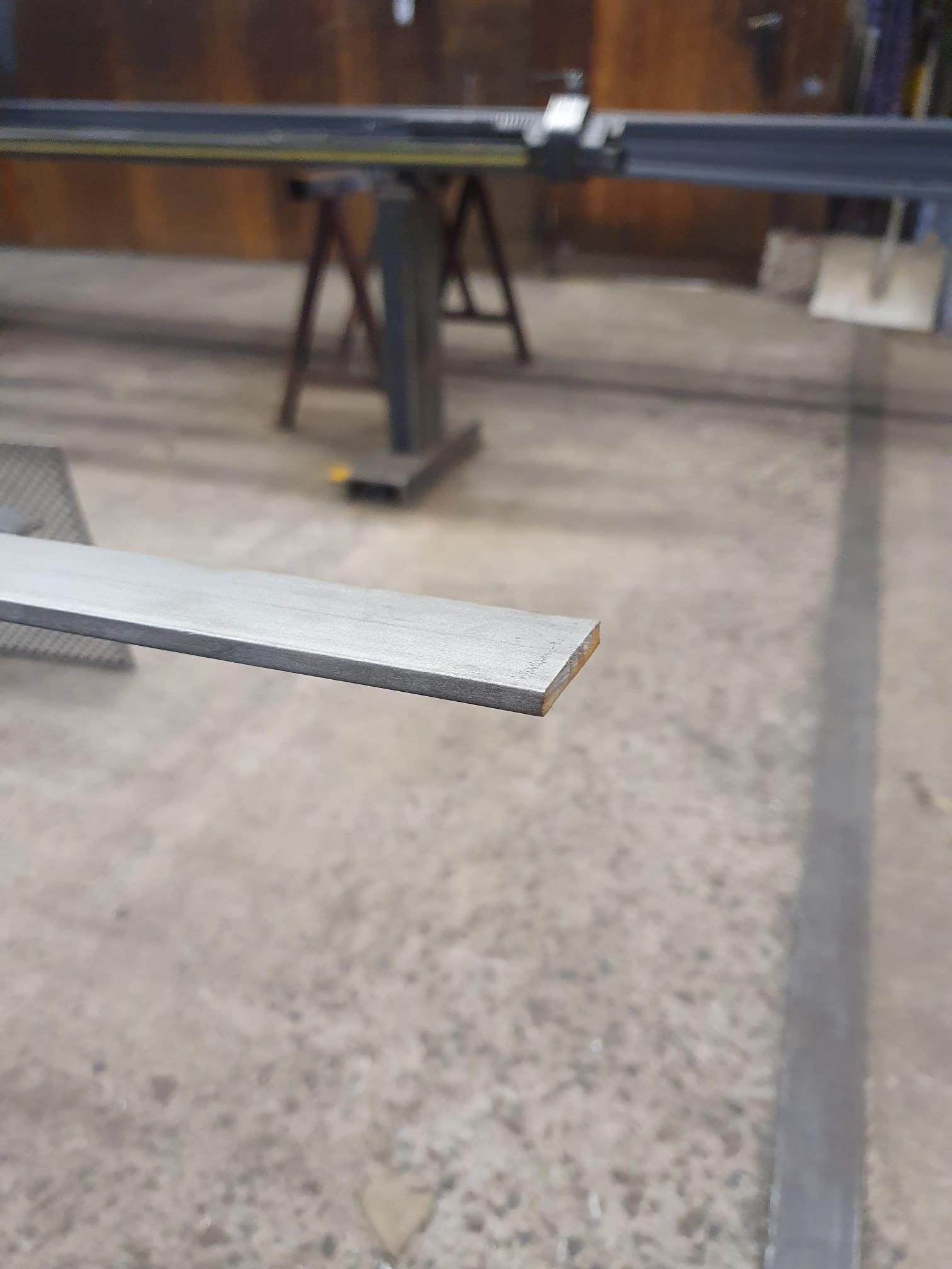 Aluminium plattjärn